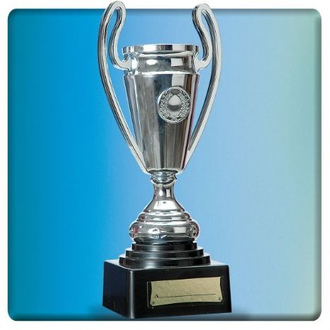 Trophy Cup on Stand 24cm Soccer MLS SPL PL World Cup European Novelty